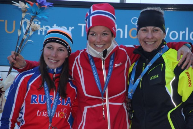Borhild Løvset - World Champion Winter Triathlon 2014