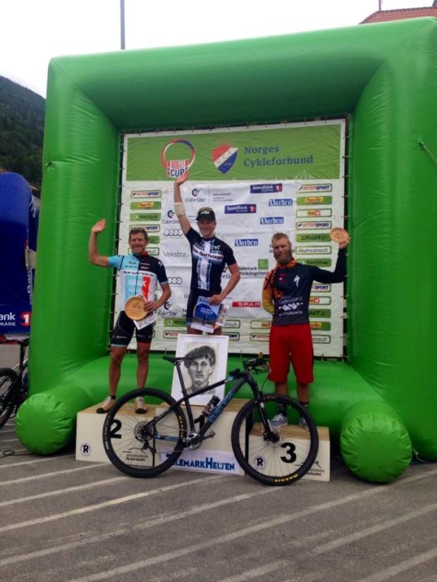 Carl Fredrik Hagen vinner NorgesCup 2014