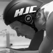 Carl Fredrik Hagen forbereder seg på temposykkel til Spania Rundt 2019.