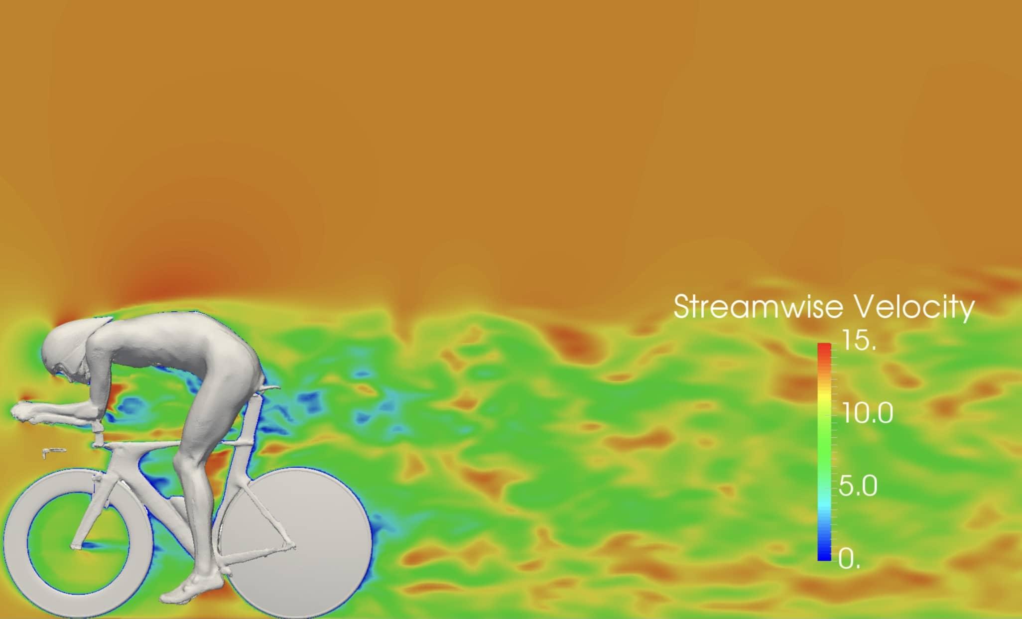 3D modell med visning av trykk